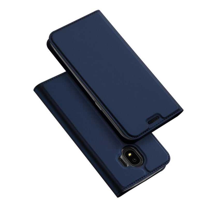 Skin Pro Series PU Leather Case for Samsung J4 2018