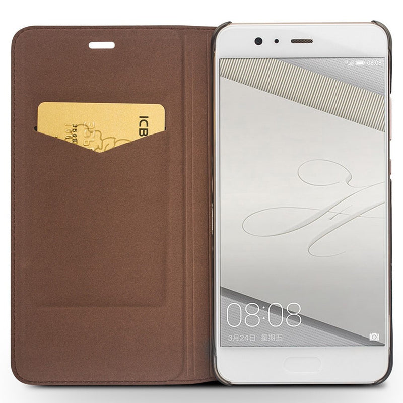Genuine Cowhide Leather Cover for Huawei P10
