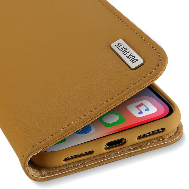 iPhone X/XS Wallet Case Brown CellMart