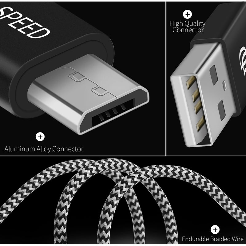 DUX DUCIS 2.1A Woven Micro USB Cable 1.5M