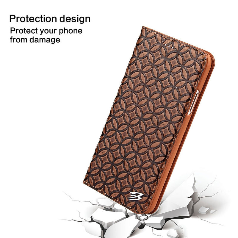 Mesh Breathable Horizontal Flip Leather Case for iPhone X/XS