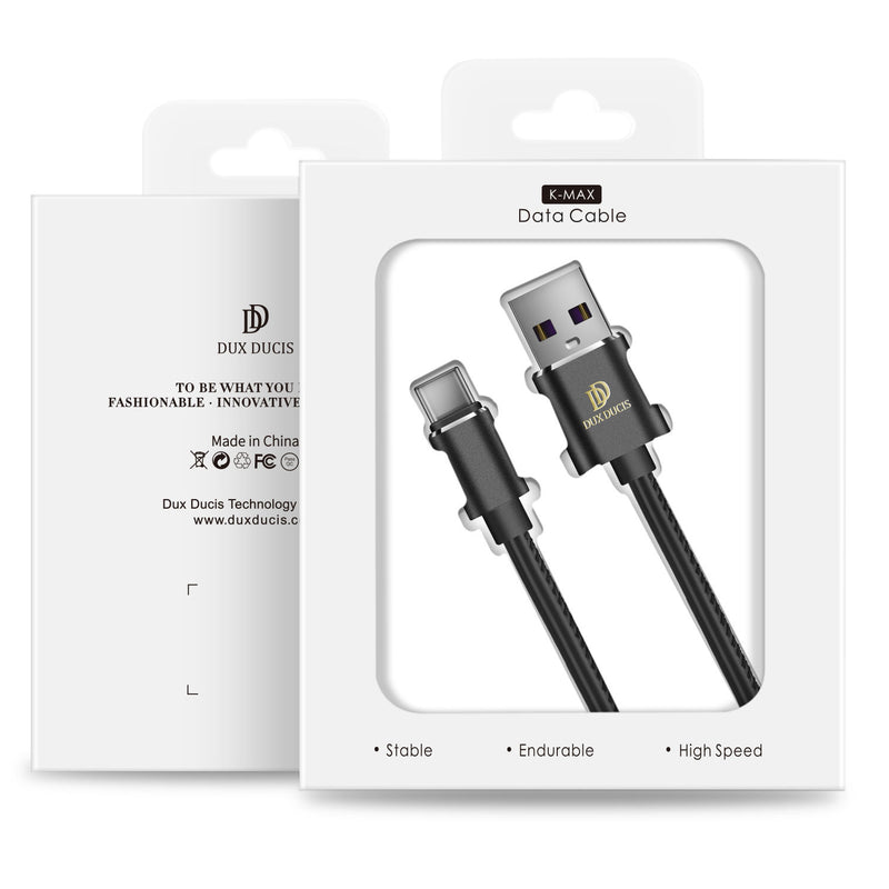DUX DUCIS USB 5A Data Sync Charging Type C cable