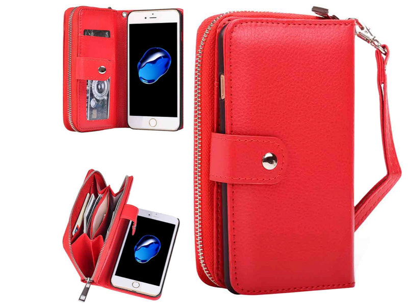 PU Leather Case for iPhone 8, iPhone 7
