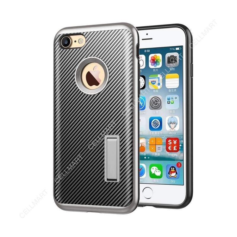 Case for iPhone 8 with Kickstand