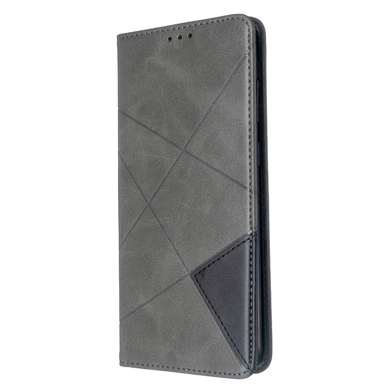 Rhombus Texture Flip Case for Samsung S20 Ultra