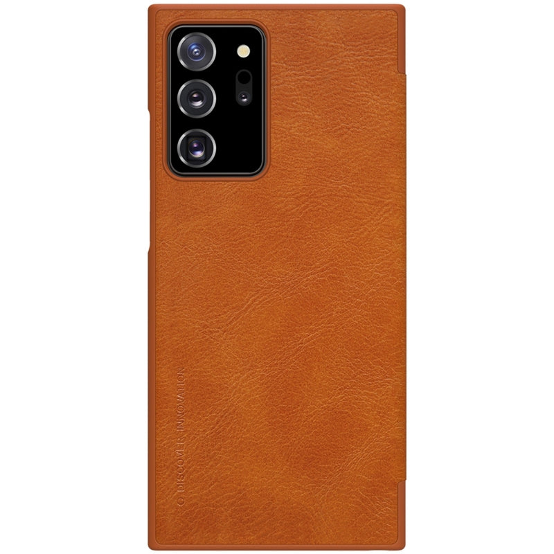 NILLKIN QIN Series Crazy Horse Texture PU Leather Case for Samsung Note 20 Ultra CellMart