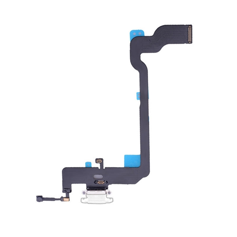 Charging Port Flex Cable for iPhone XS - White