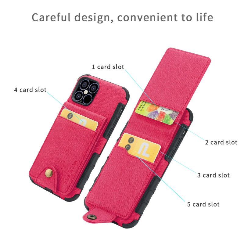 Cloth Texture + TPU Protective iPhone 12 Pro Max Case