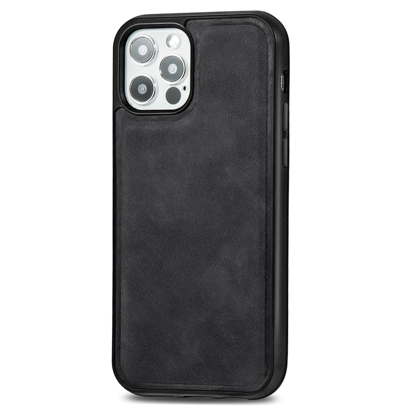 PU Leather Skin Magnetic Patch TPU Shockproof Magsafe iPhone 12 Mini Case