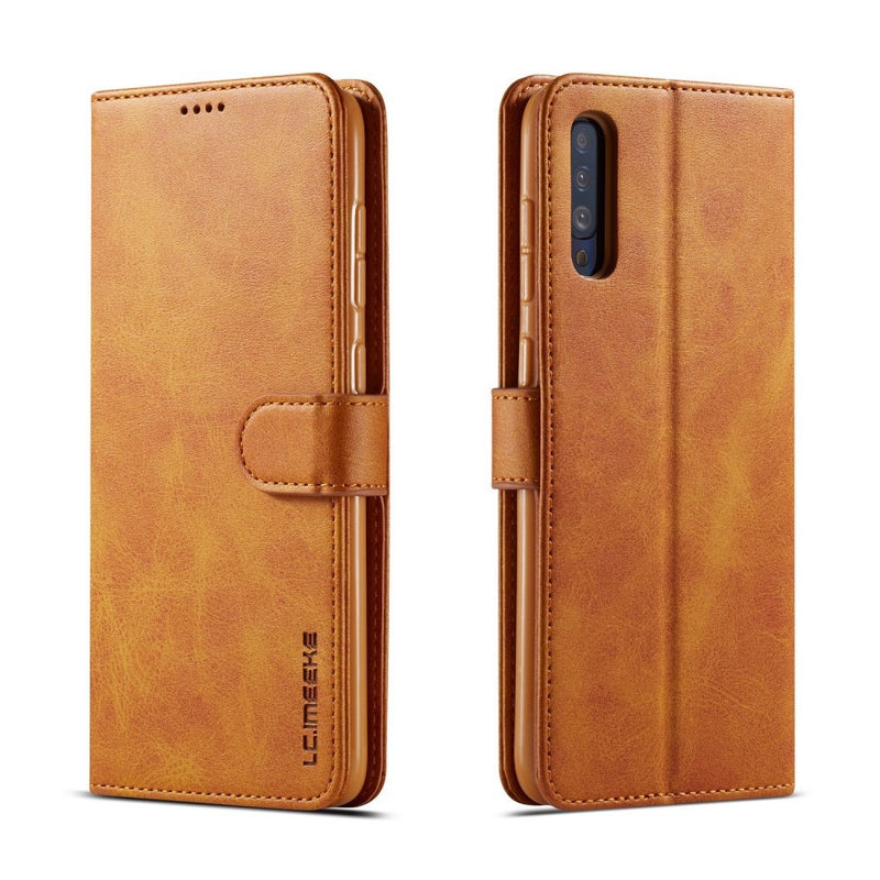 LC.IMEEKE PU leather Case for Samsung Galaxy A70