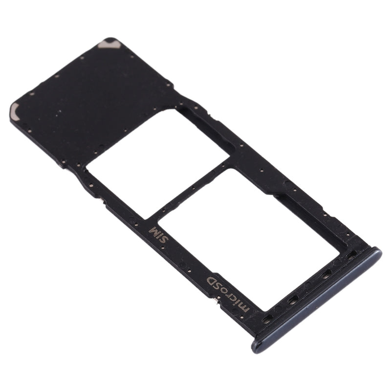 SIM Card Tray + Micro SD Card Tray for Galaxy A20 A30 A50 (Black)