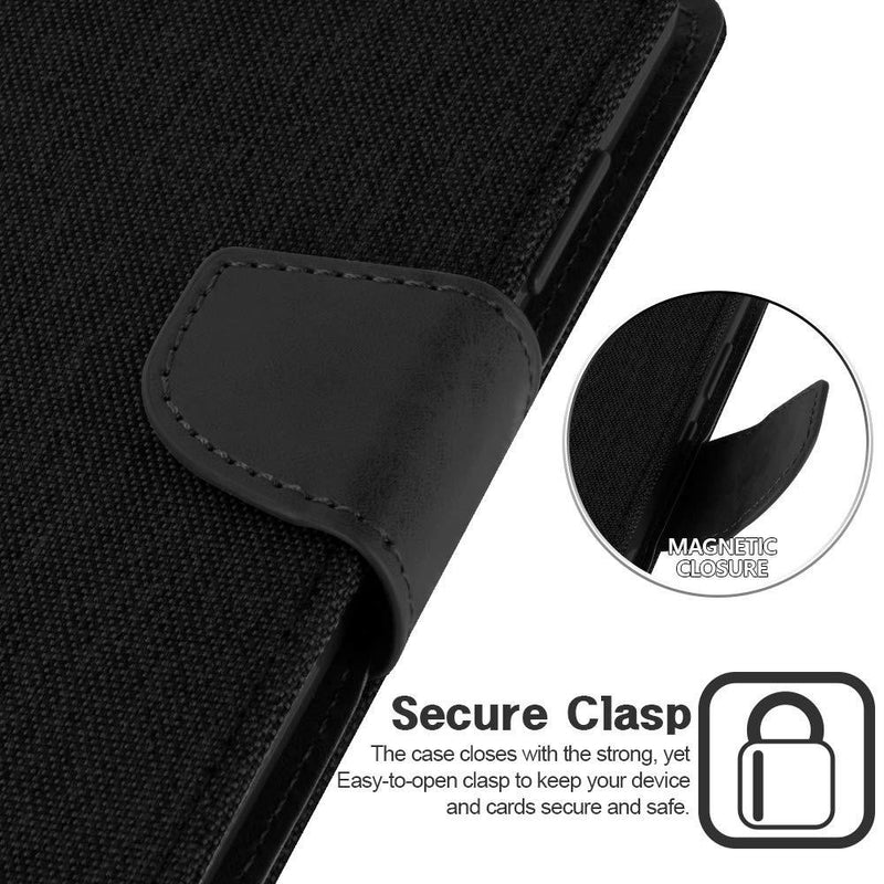 Mercury Canvas PU Leather Case for Samsung S20 Plus