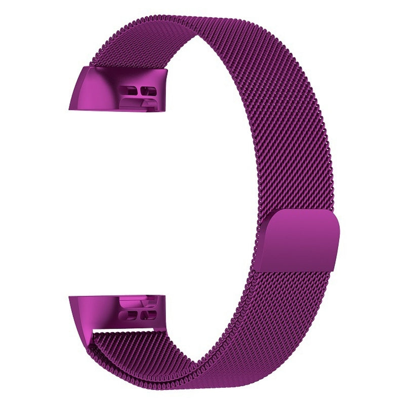 Stainless Steel Magnet Wrist Strap for FITBIT Charge 3