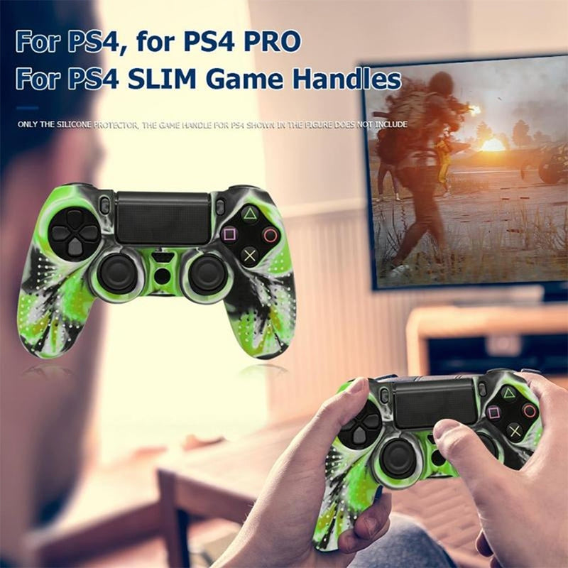 Anti-Slip Silicone Protective Case for Sony PS4 Controller