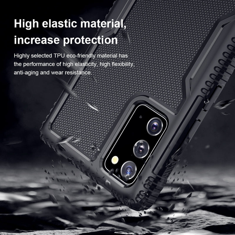 NILLKIN Tactics Series TPU Protective Samsung Note 20 Case