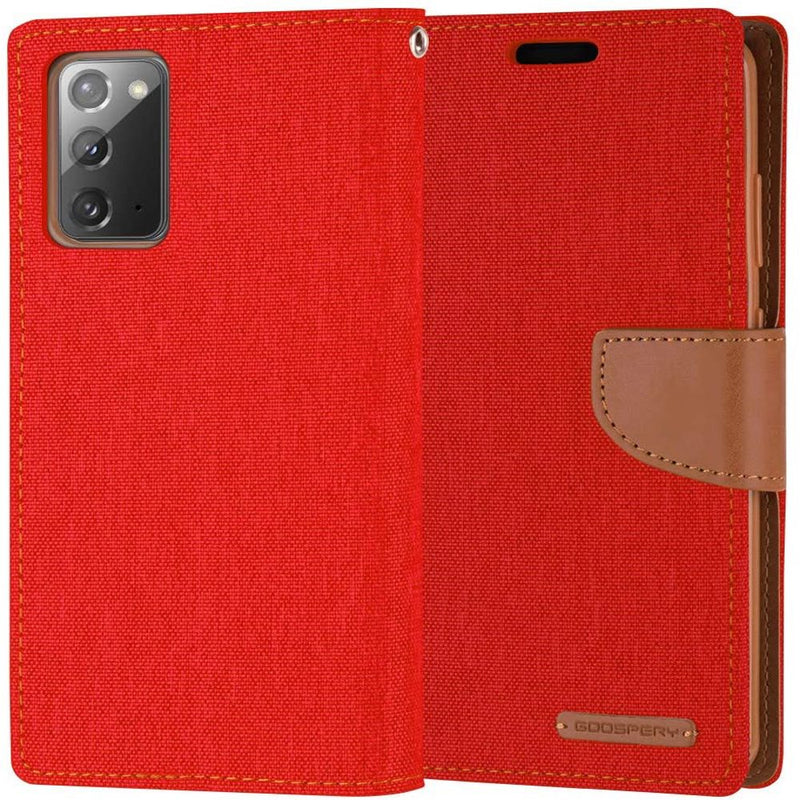 Mercury Canvas Diary Case for Samsung Note 20