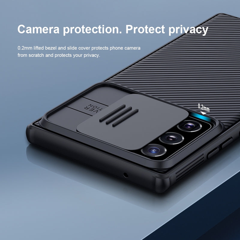 NILLKIN Black Pro Series Camshield Case for Samsung Note 20 Ultra