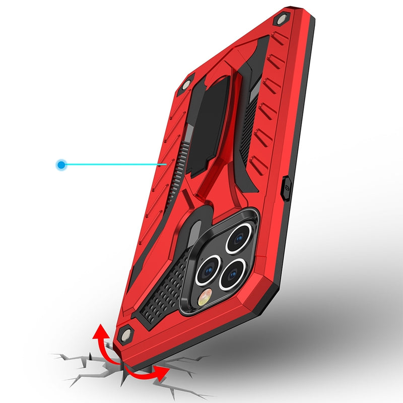 Armor Knight Series PC + TPU Protective iPhone 12 Pro/iPhone 12 Case
