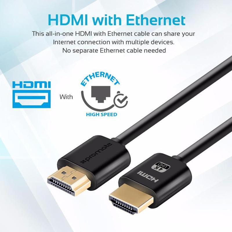 HDMI Cable 4K 24K Gold Plated 5M