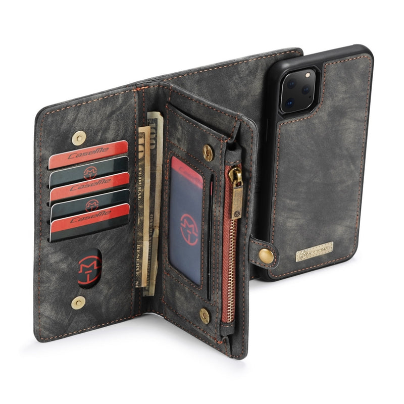 CASEME Multi-slot Wallet Case for iPhone 11 Pro Max