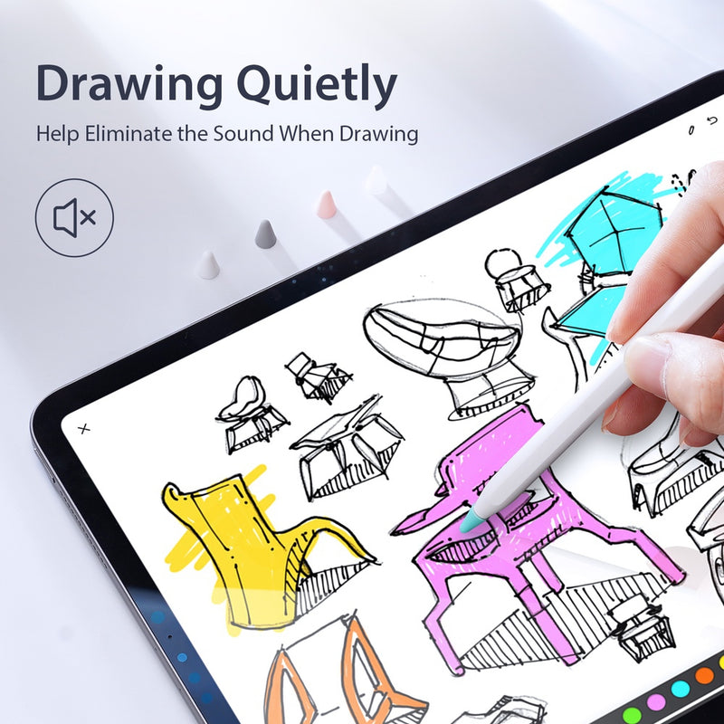 Silicone Tip Cover for Apple Pencil - Blue