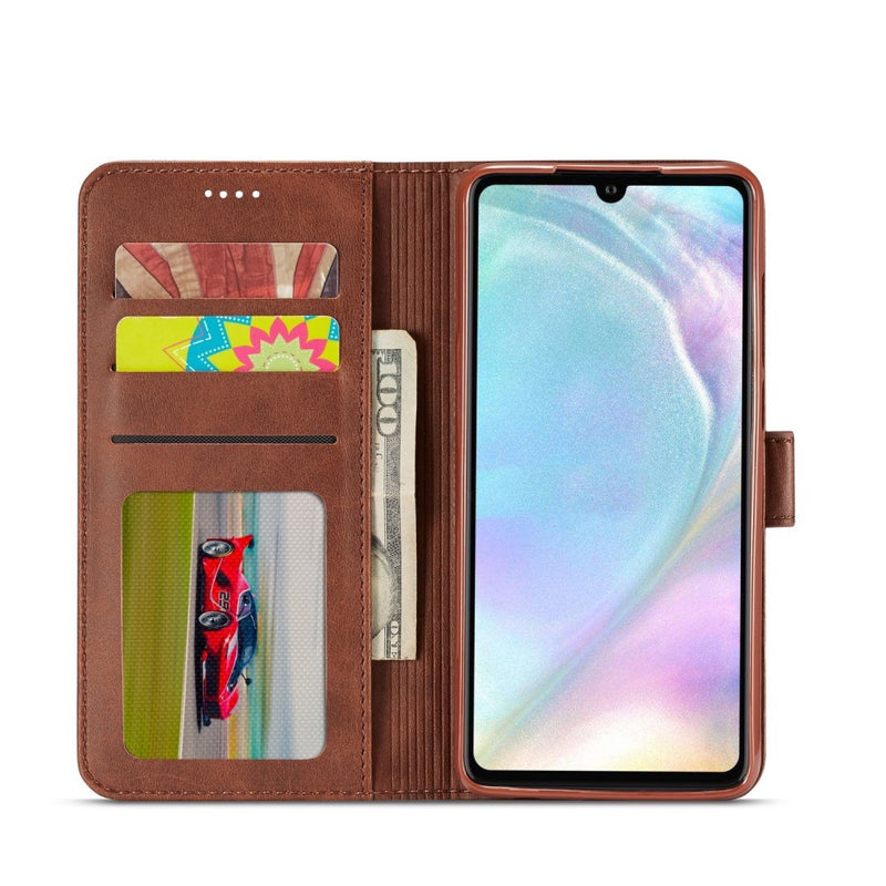 LC.IMEEKE PU Leather Case for Huawei P30