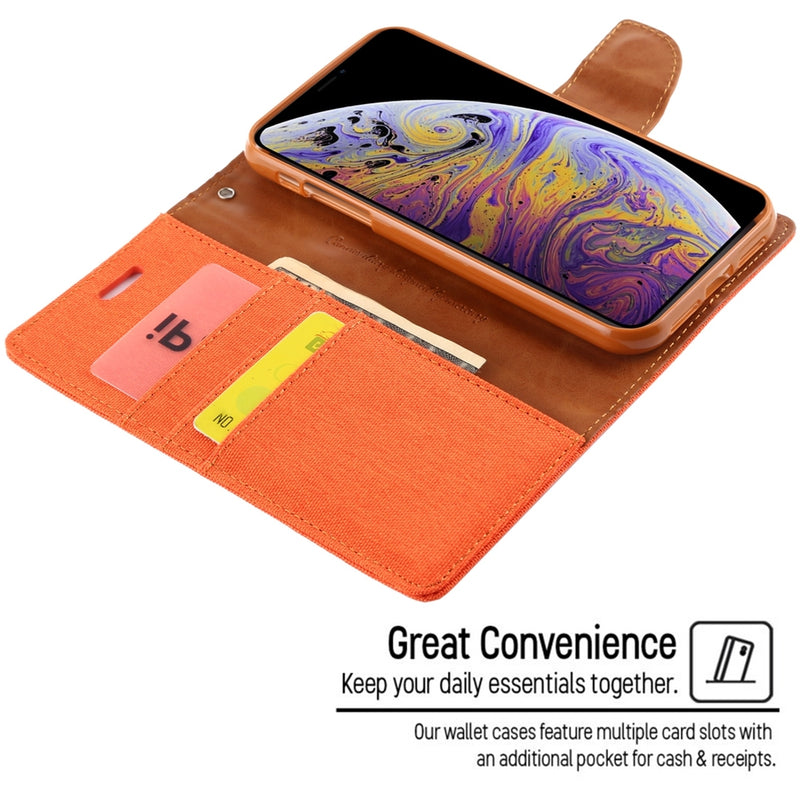 Mercury Canvas PU Leather Case for iPhone 11 Pro CellMart