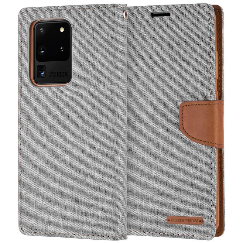 Mercury Canvas Diary PU Leather Case for Samsung S20 Ultra