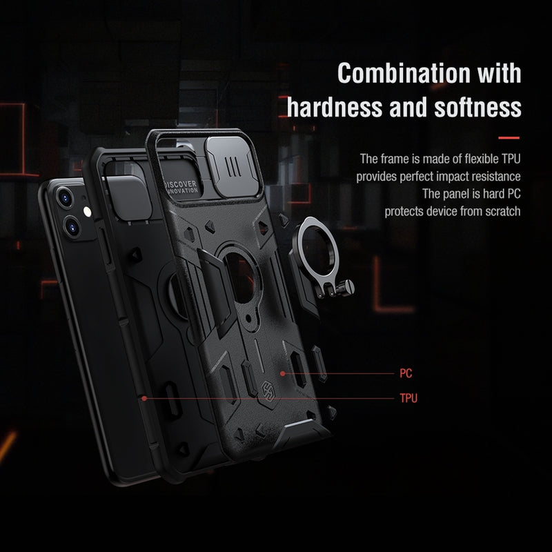 NILLKIN Shockproof CamShield Armor Protective Case for iPhone 11