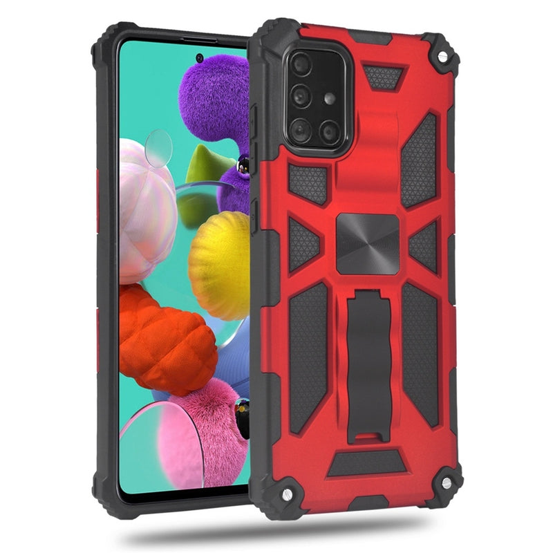 Armor Shockproof TPU + PC Magnetic & Stand Case for Samsung A51