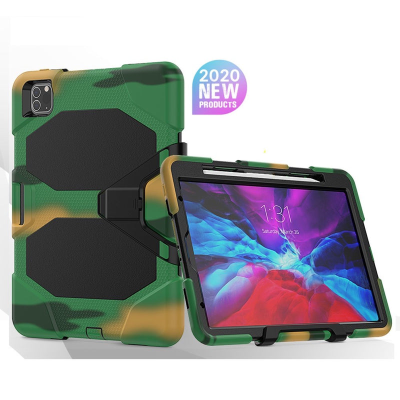 Heavy Duty Silicone PC Hybrid Case for iPad Pro 11 2020