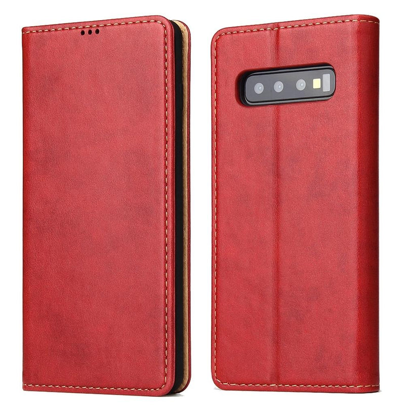FIERRE SHANN PU Leather Case for Samsung S10