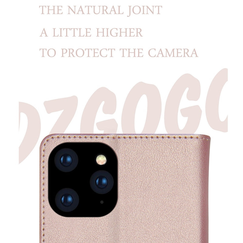 DZGOGO Milo Series PU leather Case for iPhone 11 Pro Case
