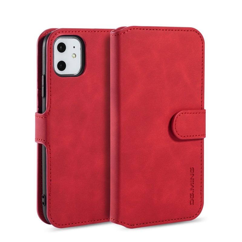 DG.MING PU Leather case for iPhone 11