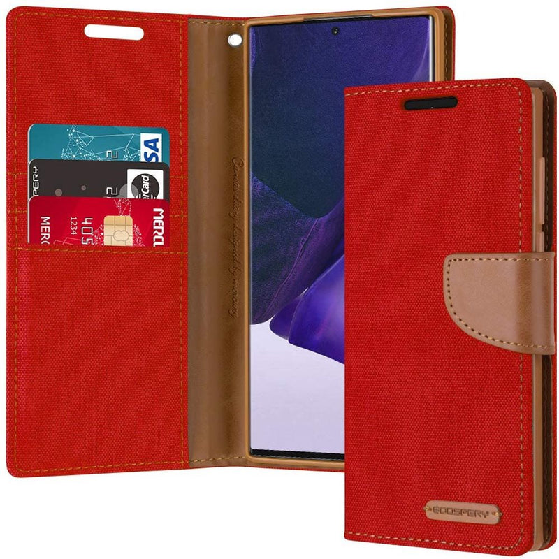 Mercury Canvas Diary Case for Samsung Note 20 Ultra CellMart