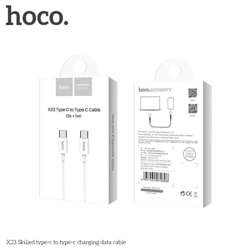 HOCO 3A PD USB C to C Charger Cable