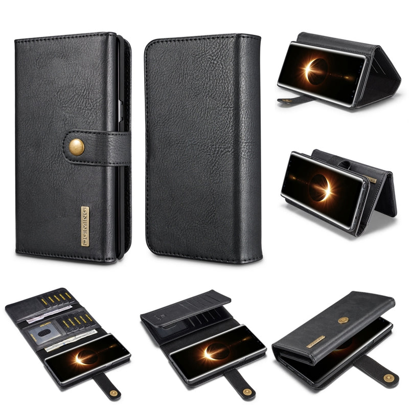 DG.MING Multi-slot Wallet Case for Samsung Note 8