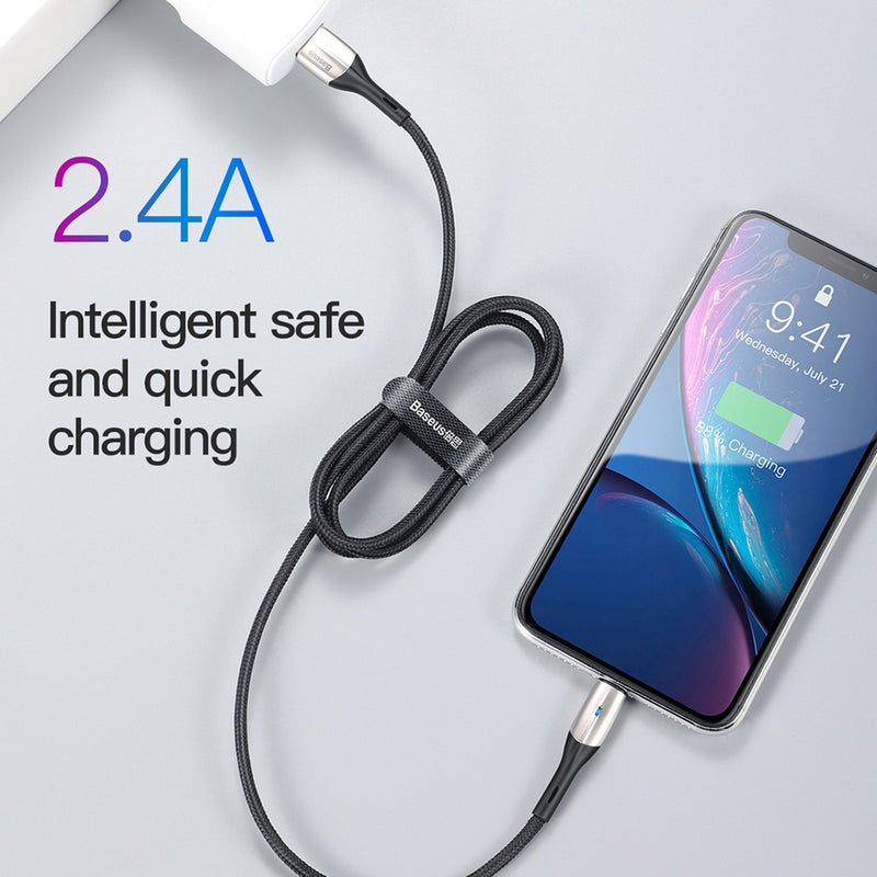 BASEUS 2.4A Data Sync Charging Lightning Cable 50cm