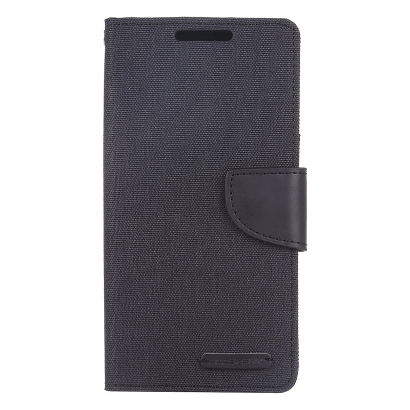 MERCURY GOOSPERY Canvas Diary Case for Samsung Note 10