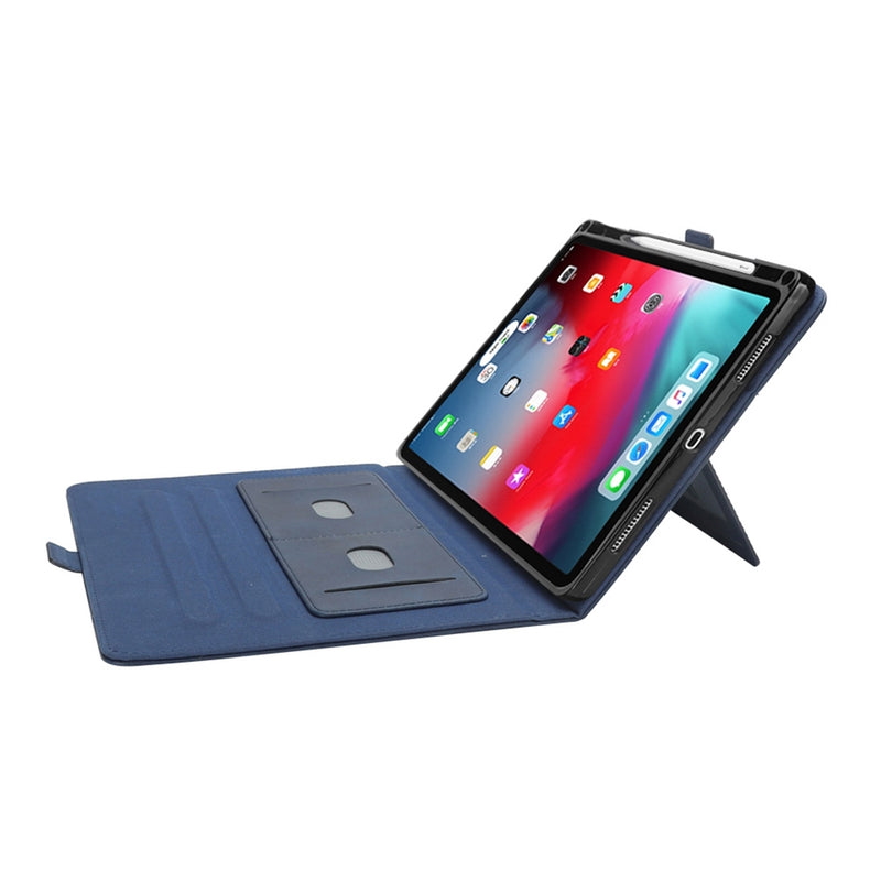 PU Leather Case for iPad Pro 12.9 2018 - Blue
