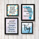 Set of 4 Art Frames - Progress