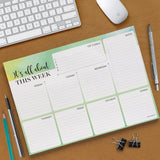 Set of 2 Weekly Planners - This Week & The Weekly Menu