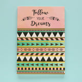 Set of 2 Notebooks - Happy Mind & Follow Your Dreams