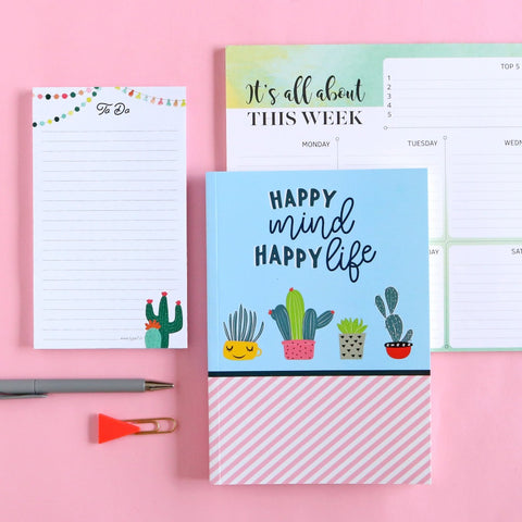 Happy Mind - Stationery Collection
