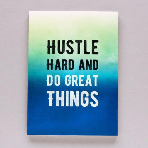 Hustle Hard - Notebook