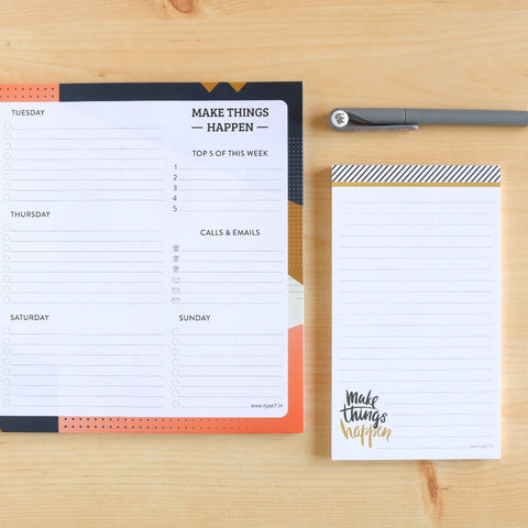 Make Things Happen - Stationery Set