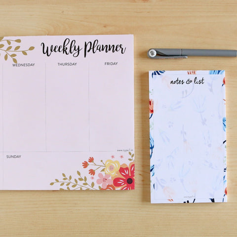 Floral - Stationery Set