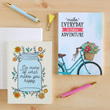 Set of 2 Notebooks - Adventure & Do More Of