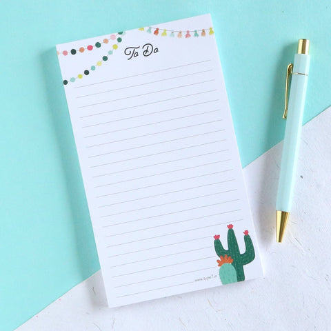 Cactus To Do - Notepad