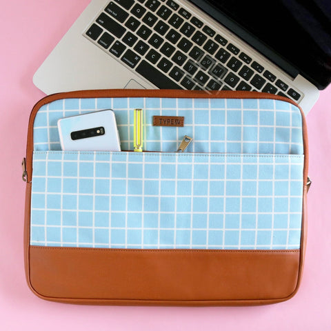 Checks - Laptop Sleeve